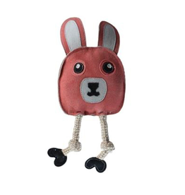 Outback Jack by Cosmic Aussie Naturals Leather Flattie  Bunny