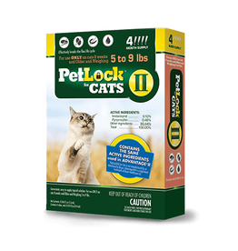PetLock II Topical Flea Treatment for Cats
