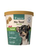 naturVet NaturVet No Toot Chew Gas Aid plus Fennel for Dogs 70ct