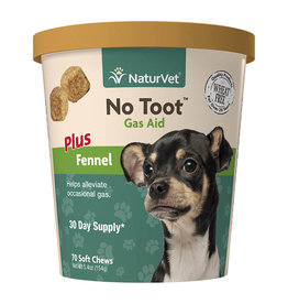 naturVet NaturVet Dog No Toot Gas Aid Chew 70ct
