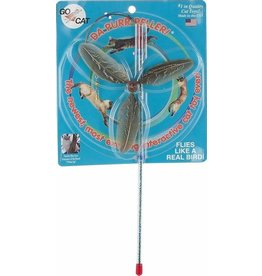 Go Cat Feather Toys Go Cat Da Purr-Peller Teaser Wand