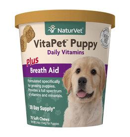 naturVet NaturVet VitaPet Puppy Daily Vitamins Chew 70ct