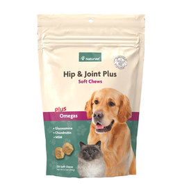 naturVet NaturVet Hip & Joint Chews 120ct