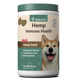 naturVet NaturVet Dog Hemp Immune Chew 60ct