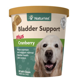 naturVet NaturVet Bladder Support plus Cranberry Chew 60ct