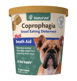 naturVet NaturVet Coprophagia Soft Chews 70ct