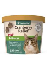 naturVet NaturVet Cat Cranberry Relief plus Echinacea Chew 60ct