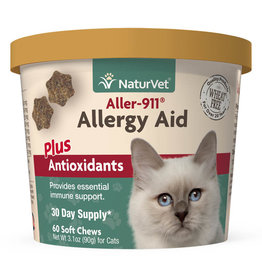 naturVet NaturVet Cat Allergy Aid Chew 60ct