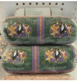Dogs Gone Wild Dogs Gone Wild Frozen Raw Lamb Chub 1lb