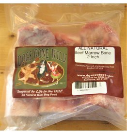 Dogs Gone Wild Dogs Gone Wild 2 inch Marrow Bones 6pk