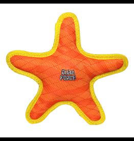 VIP Pet DuraForce Star Orange Tough Dog Toy