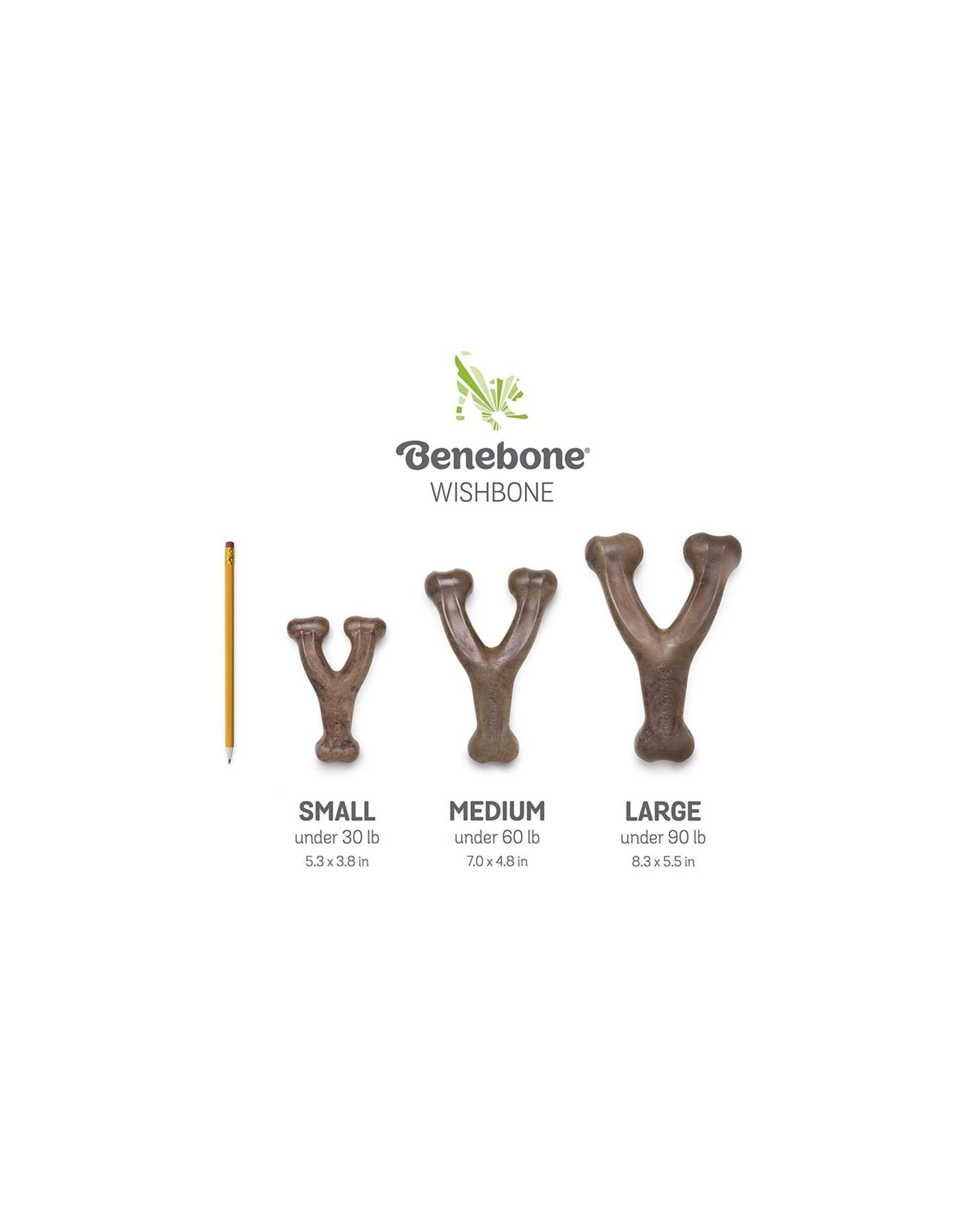 Benebone Benebone Wishbone Peanut Nylon Chew Toy