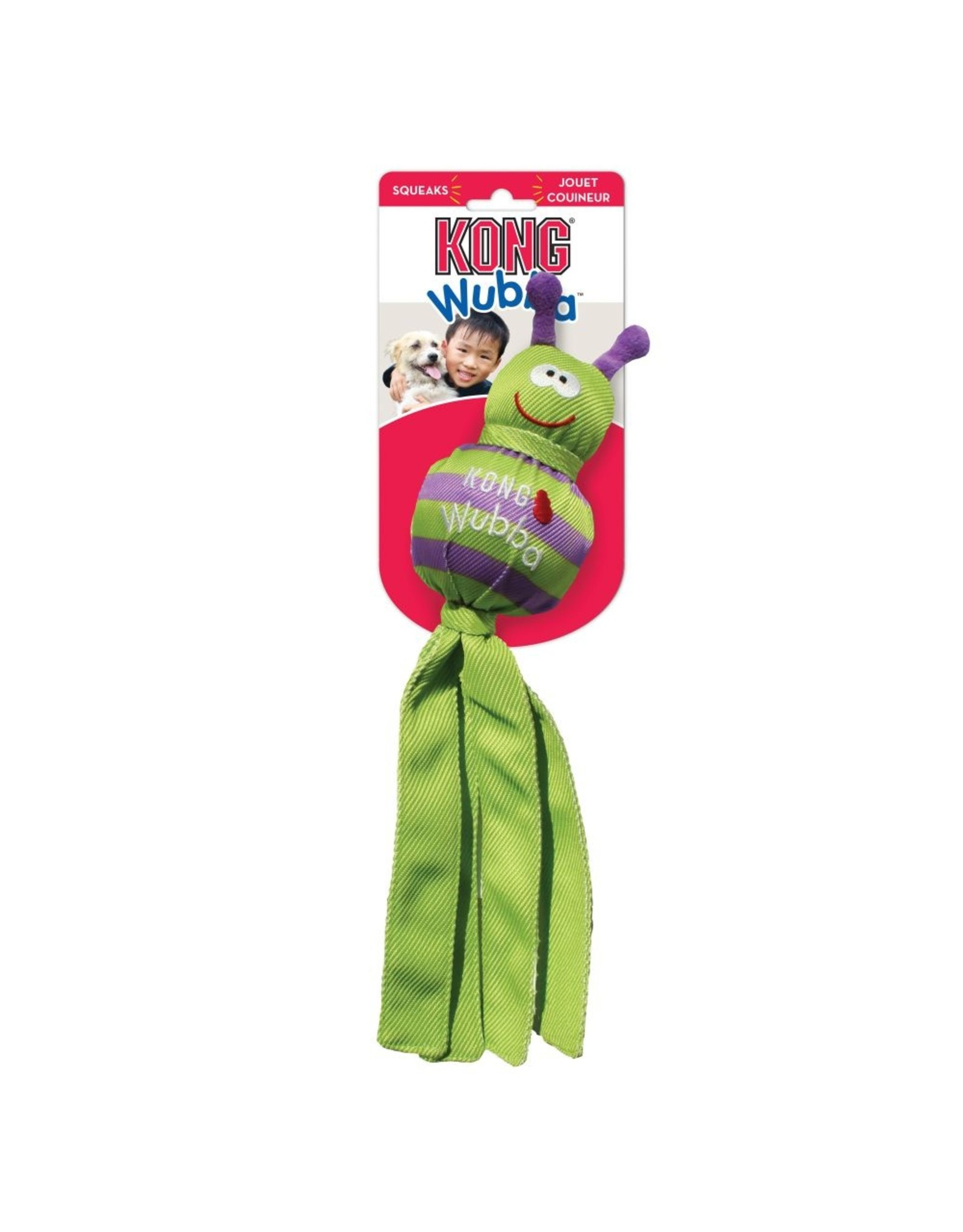 Kong Kong Wubba Bug Dog Toy