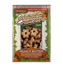 K9 Granola Factory Pumpkin Crunchers Peanut Butter 14oz