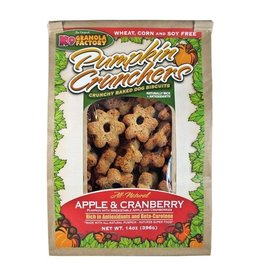 K9 Granola Factory Pumpkin Crunchers Apple Cranberry 14oz