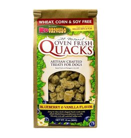 K9 Granola Factory Quacks Blueberry Vanilla 10oz