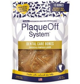 ProDen PlaqueOff Dental Bones Chicken Pumpkin 17oz