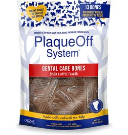 ProDen PlaqueOff Dental Bones Bison Apple 17oz
