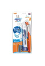 Nylabone Advanced Oral Care Cat Dental Kit with Toothbrushes & Toothpaste