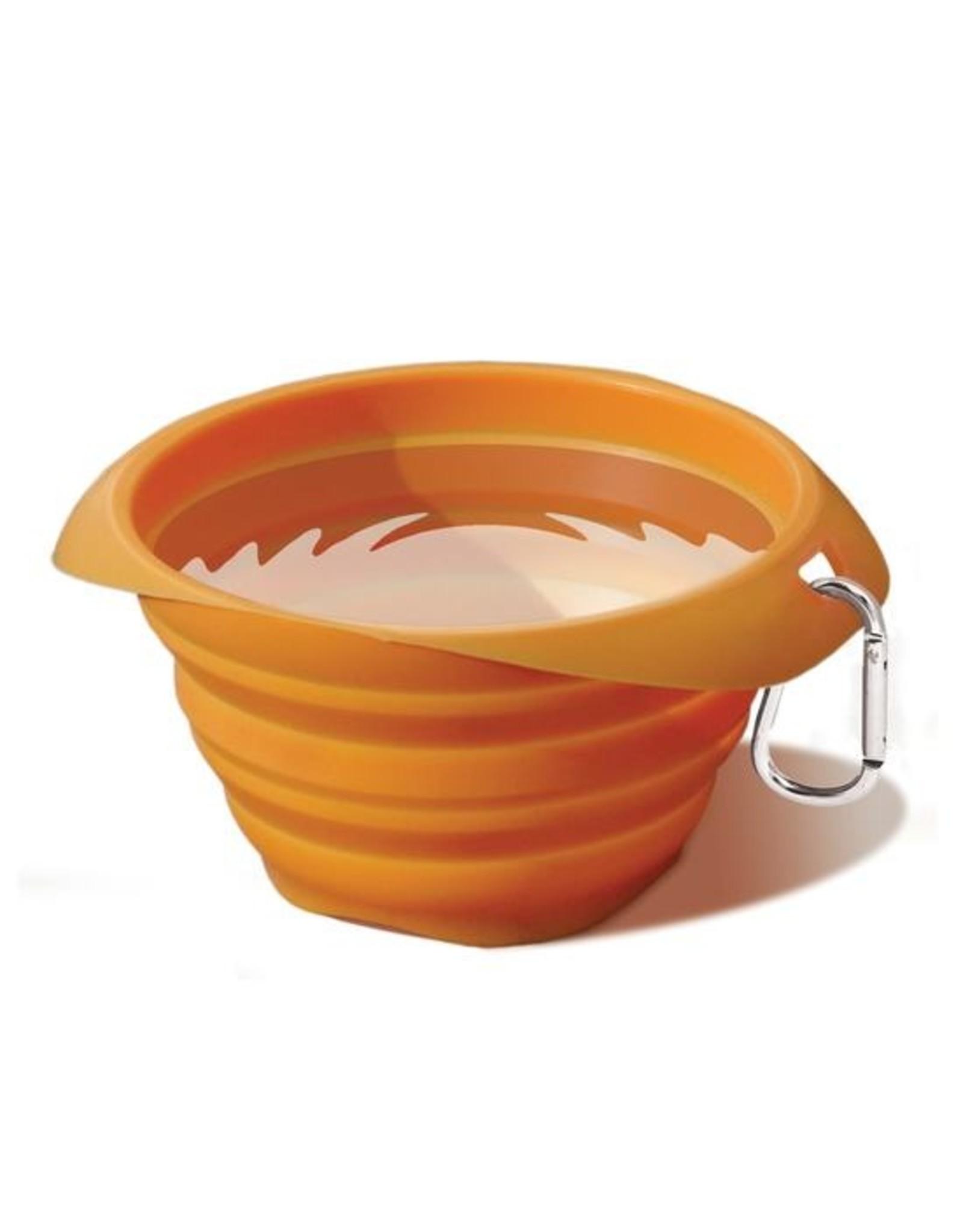 Kurgo Kurgo Collaps-a-Bowl Collapsible Silicone Travel Bowl