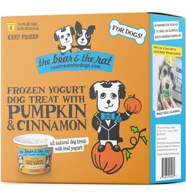 The Bear and the Rat Pumpkin & Cinnamon Yogurt 3.5oz