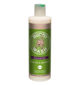 Cloud Star Buddy Wash Green Tea Bergamot Dog Shampoo & Conditioner 16oz