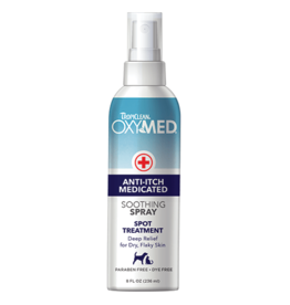 Tropiclean OxyMed Anti Itch Medicated Spray 8oz