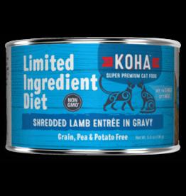 Koha Koha Cat Can LID Shredded Lamb 5.5oz