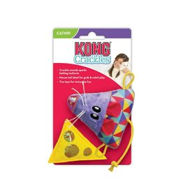 Kong Kong Crackles & Cheez Cat Toy 2pk