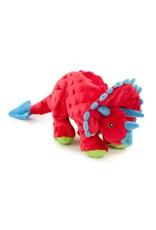 Go Dog Go Dog Plush Triceratops Dog Toy