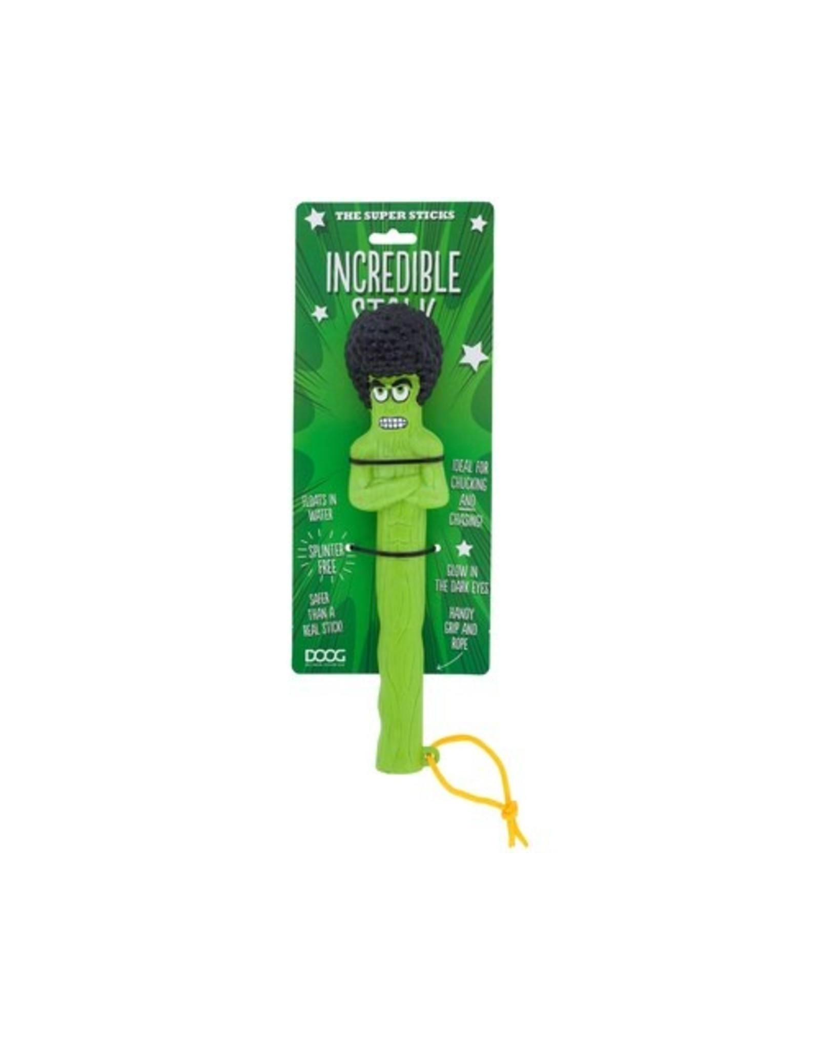 Doog Doog Super Sticks Incredible Stalk Fetch Toy Rubber Stick Alternative