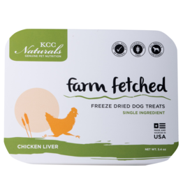 KCC KCC Freeze Dried Chicken Liver 3.4oz