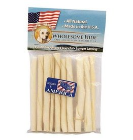 Wholesome Hide Wholesome Hide USA Rawhide 5in Twists