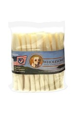 Wholesome Hide Wholesome Hide USA Rawhide 5in Twists Dog Treats