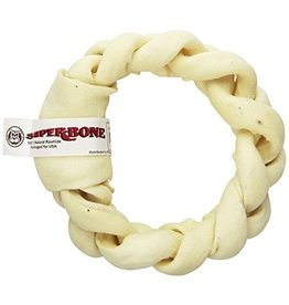 Super Bone Super Bone Braided Rawhide Donut