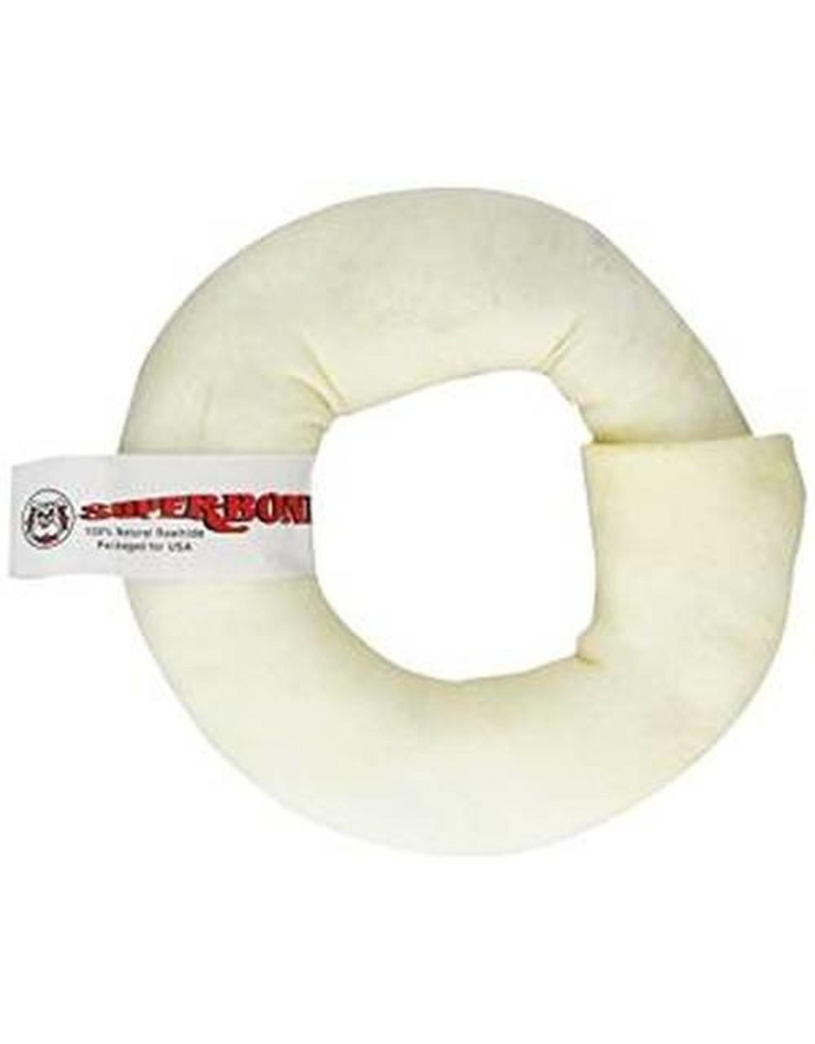 Super Bone Super Bone Rawhide Donut Medium Dog Chew