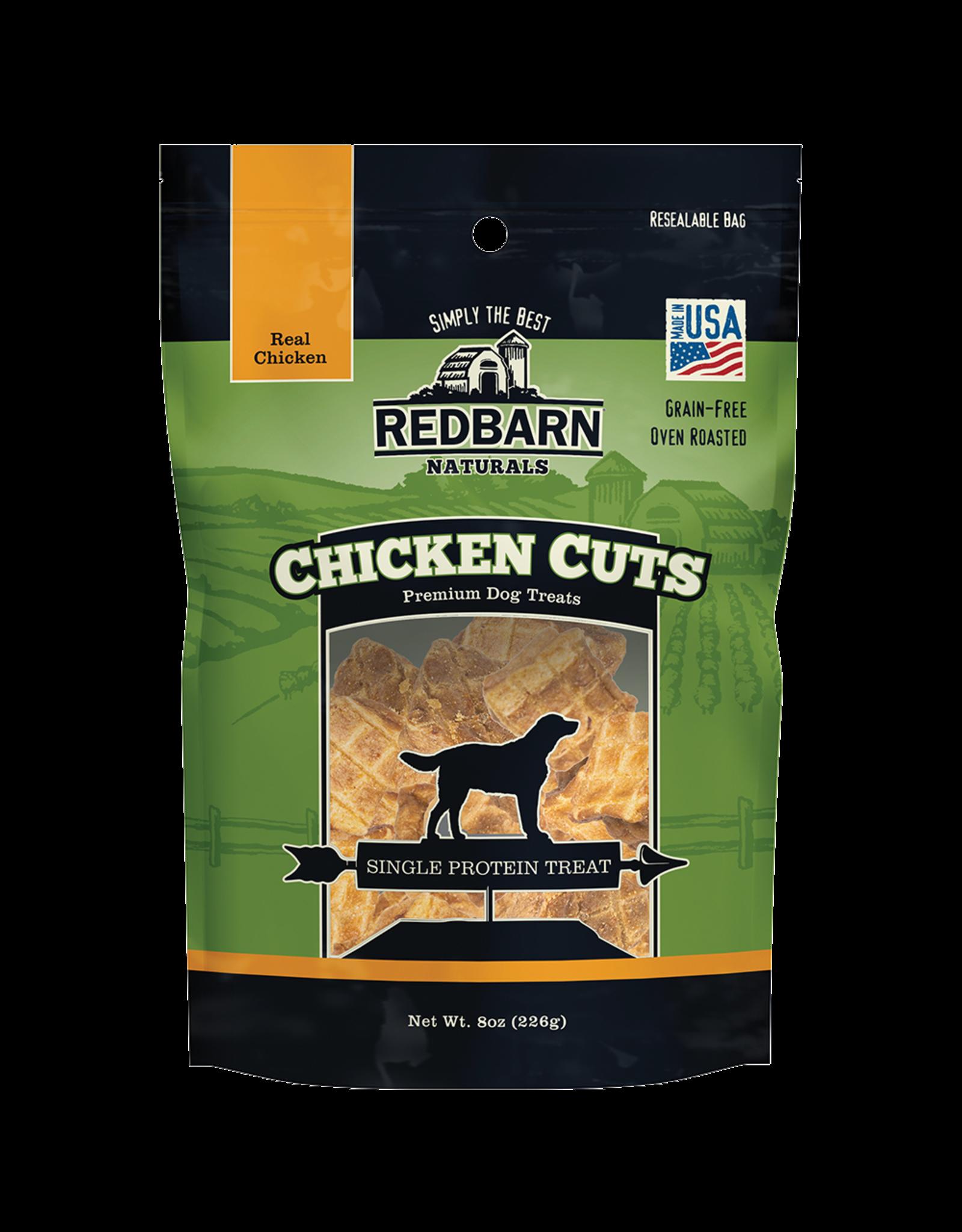 Redbarn Redbarn Chicken Cuts Dog Treats 8oz