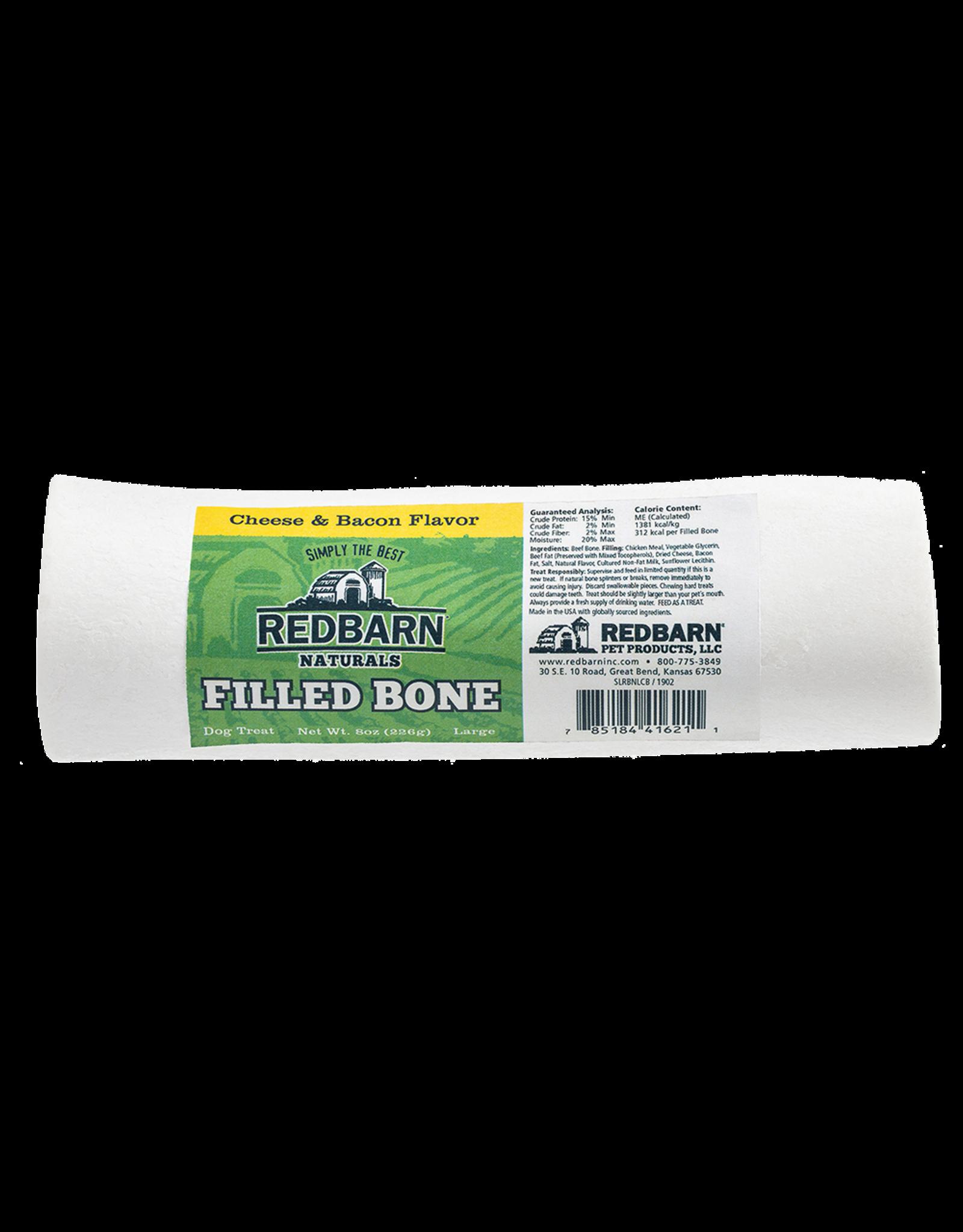 Redbarn Redbarn Filled Bones Cheese & Bacon Dog Chew