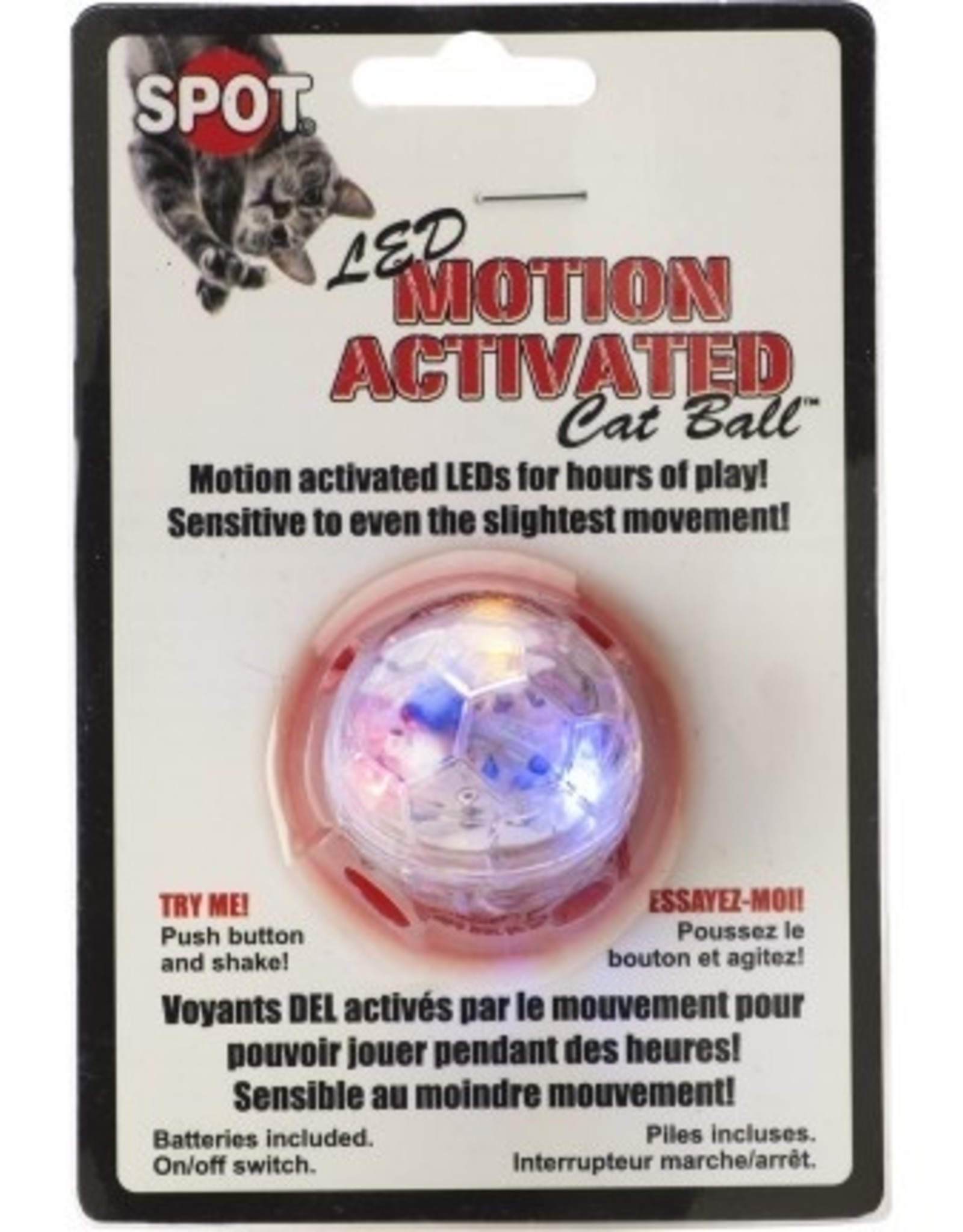 Ethical Pet / Spot Spot LED Motion Activated Cat Ball