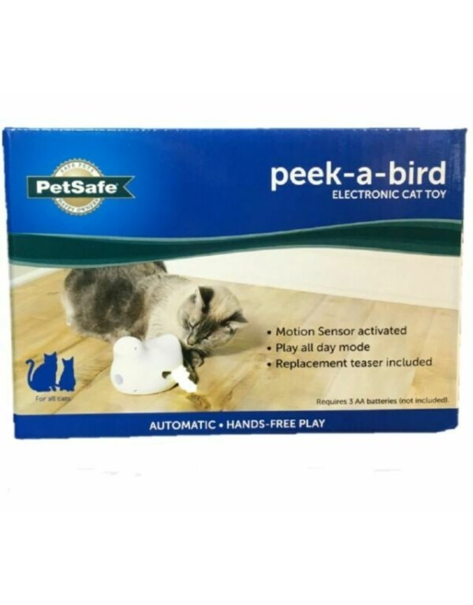 Petsafe PetSafe Peek-a-Bird Electronic Cat Toy