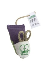 From the Field From the Field Shelby the Refillable Hemp Mouse Catnip Cat Toy