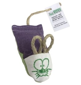 From the Field Shelby the Refillable Hemp Mouse Catnip Cat Toy