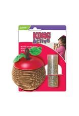 Kong Kong Active Scratch Apple Catnip Cat Toy