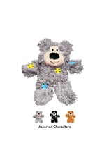 Kong Kong Softies Patchwork Bear Cat Toy