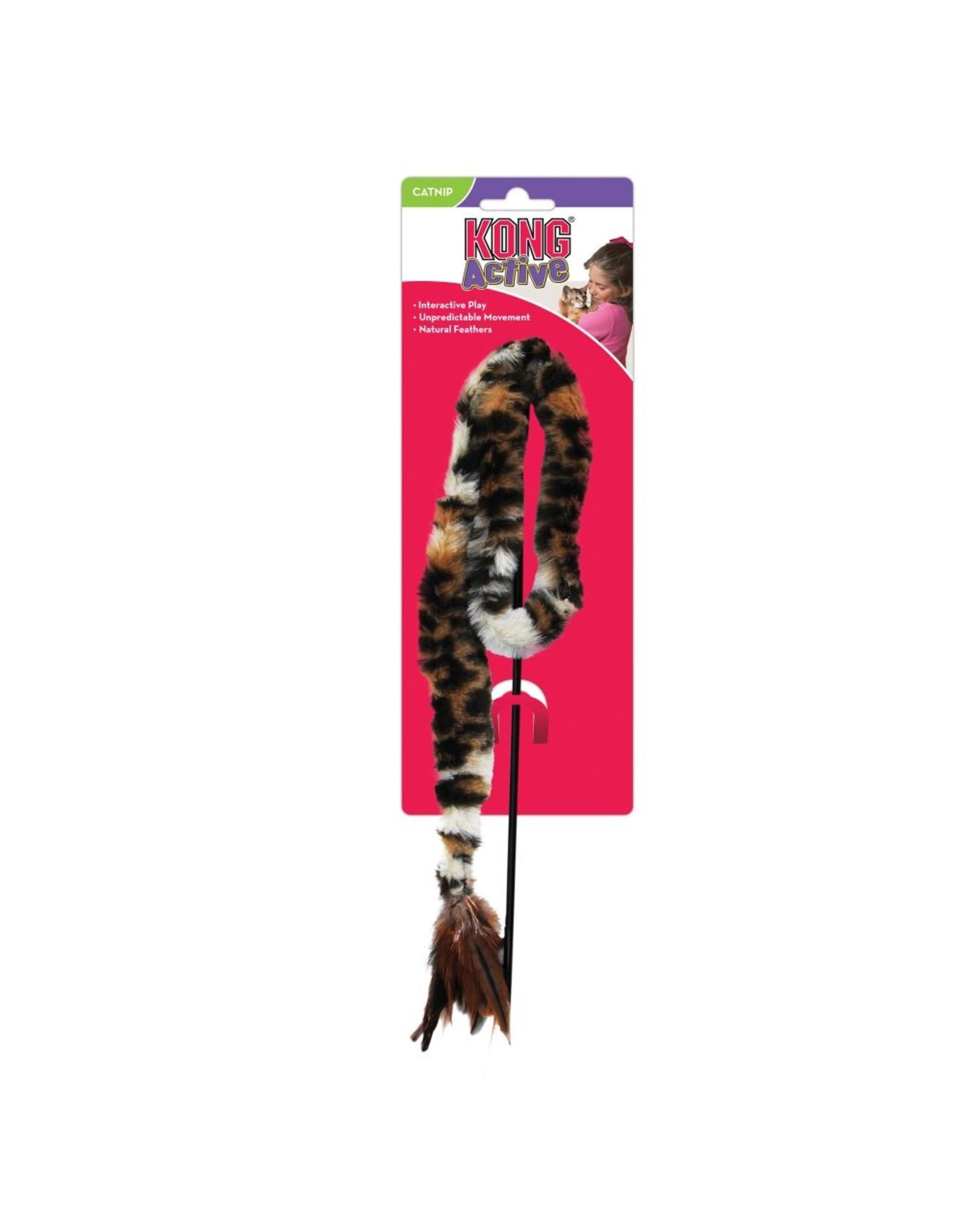 Kong Kong Swizzle Bird Teaser Cat Wand