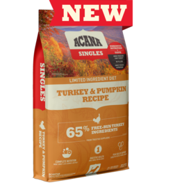 Acana Acana Dog Dry Singles LID Turkey & Pumpkin GF