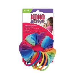 Kong Kong Cat Active Scrunchie Toy
