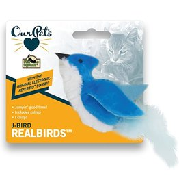 OurPets by Cosmic OurPets Realbird Cat Toys with Sound