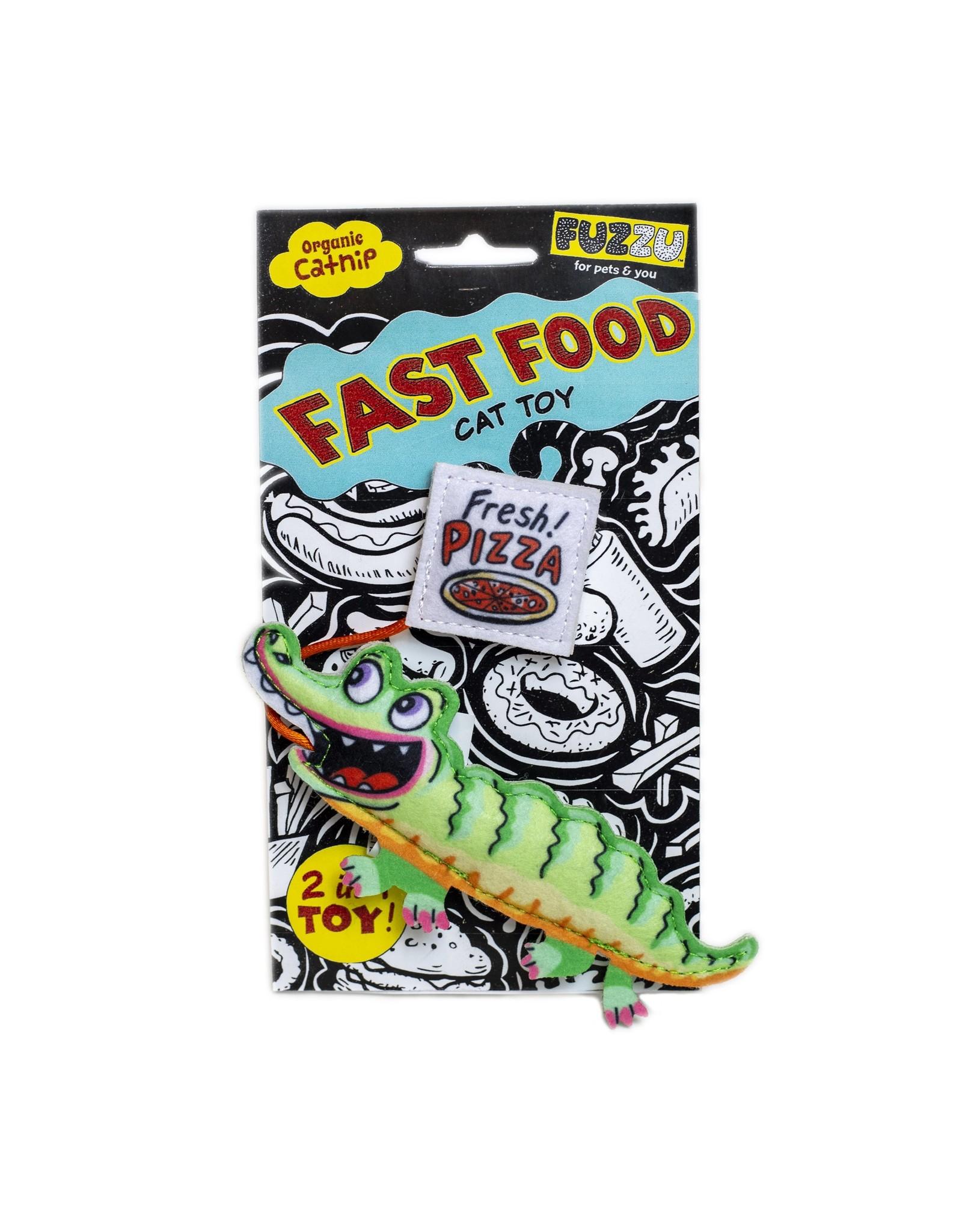 Fuzzu Fuzzu Fast Food Frog & French Fliesz Cat Toy