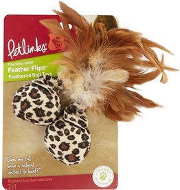 Petlinks Petlinks Feather Flips Cat Toys 2pk
